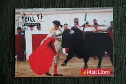 CORRIDA - BEZIERS - FERIA 1997 - Enrique PONCE - Corrida