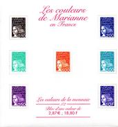 France.bloc No 41 De 2001.les Couleurs De Marianne.n**. - Blocs & Feuillets