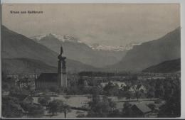 Gruss Aus Kaltbrunn - Stempel: Nach Baldegg - SG St. Gall