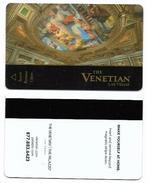 The Venetian Casino & Hotel, Las Vegas, NV, U.S.A., Used Magnetic Hotel Room Key Card, # Venetian-106 - Cartes D'hotel