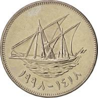 Kuwait, Jabir Ibn Ahmad, 100 Fils, 1998, FDC, Copper-nickel, KM:14 - Koweït