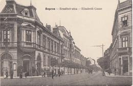 Sopron , 1916 , Tram - Hungary