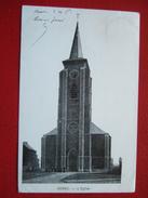 """BELGIQUE - HORNU - L' EGLISE - """" VOY EN 1904 """" - Belgium"""