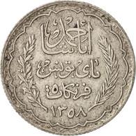 Tunisie, Ahmad Pasha Bey, 5 Francs, 1939, Paris, TTB, Argent, KM:264 - Túnez
