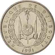 Djibouti, 50 Francs, 1991, Paris, SPL+, Copper-nickel, KM:25 - Djibouti