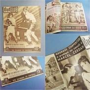 * JOURNAL SPORT BUT ET CLUB N° 143 1948 CERDAN ZALE # Boxe Boxeur Sportif Course Auto Vélo Football Sochaux - Autres
