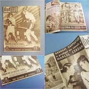 ~ JOURNAL SPORT BUT ET CLUB N° 143 1948 CERDAN ZALE # Boxe Boxeur Sportif Course Auto Vélo Football Sochaux - Other