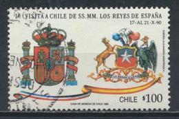 °°° CILE CHILE - Y&T N°1006 - 1990 °°° - Cile