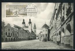 Tchécoslovaquie - Carte Maximum 1955 Telc - Tchécoslovaquie