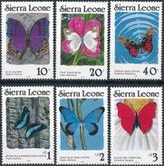 Sierra Leone  Butterflies - Butterflies