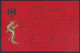 1900  AK  Gruss Aus Kiautschou - Kolonie: Kiaochow