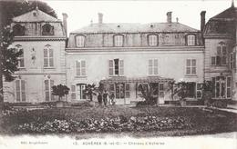 Achères (Seine-et-Oise) - Château D'Achères, Petite Animation Devant Les Jardins - Edition Bergé-Dessus - Acheres