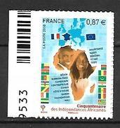 France 2010 - Yv N° 472 ** - 50ème Anniversaire Des Indépendances Africaines - Sellos Autoadhesivos