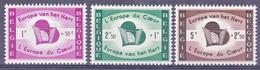 BELGIË /BELGIUM/BELGIQUE 1959 Nrs. 1090........1092 - ** - Ongestempeld/Nieuw - Belgique