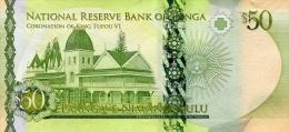 TONGA P. 48 50 P 2015 UNC - Tonga