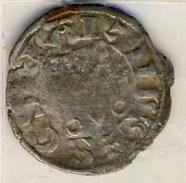 MONNAIE PHILIPPE II AUGUSTE # DENIER SAINT MARTIN? - 1180-1223 Philippe II Auguste