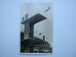 1936 , Berlin - Olympiade ,Karte Turmspringen Mit Sonderstempel