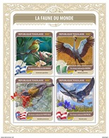 TOGO 2016 - Fauna Of World 18: Dragonfly. Official Issue. - Insekten