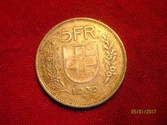 Suisse: 5 Francs 1932 (silver) - Suisse