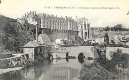Thouars (Deux-Sèvres) - Le Château, Maison De Force Depuis 1871 - Carte D.B. - Thouars