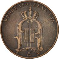 Suède, Oscar II, 5 Öre, 1890, TTB, Bronze, KM:757 - Suède