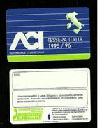 Tessera & Tessere - Tessera Aci 1995-96 - Altre Collezioni