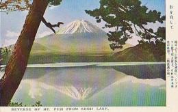 Japon        25        Reverse Of Mt Fuji From Shoji Lake - Japan