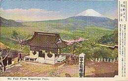 Japon        30       Mt Fuji From Nagaotoge Pass - Japan