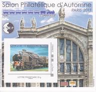 Bloc CNEP N° 63 Salon D´Automne PARIS 2013 Pacific 231E - CNEP
