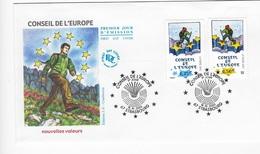 Enveloppes 1er Jour FDC 2003 Conseil De L'Europe - FDC