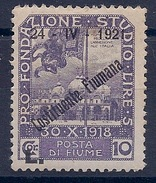 ITALIE - FIUME - 158 NEUF* MLH - Occup. Iugoslava: Fiume
