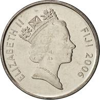 Fiji, Elizabeth II, 5 Cents, 2006, FDC, Nickel Plated Steel, KM:51a - Figi