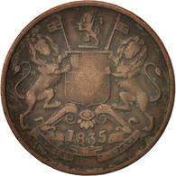INDIA-BRITISH, 1/2 Anna, 1835, Madras, TB, Cuivre, KM:447.1 - Inde
