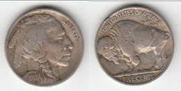 **** USA - ETATS-UNIS - UNITED-STATES - 5 CENTS 1918 - FIVE CENTS 1918 BUFFALO - NICKEL **** EN ACHAT IMMEDIAT !!! - Federal Issues