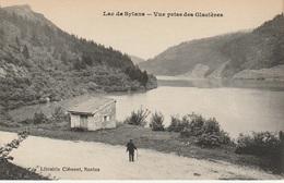 CPA Lac De Sylans - Vue Prise Des Glacières (avec Petite Animation) - Nantua