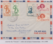 TAAF - Iles Australes - Saint Paul Et Amsterdam - Vercors - ...-1955 Prephilately