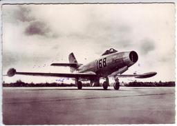 AVIATION - Avion De Chasse. OURAGAN - Tampon Armée De L'air. Besançon. Doubs - - 1946-....: Era Moderna