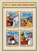 SIERRA LEONE 2016 - Dalai Lama. Official Issue. - Buddhism