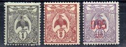 Nouvelle Calédonie N°88 - 89 - 126  Neufs Sans Charniere - Nouvelle-Calédonie