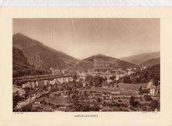 PYRENEES ORIENTALES, AMELIE-LES-BAINS, Planche Densité = 200g, Format: 20 X 29 Cm, (J. E. Auclair) - Historical Documents