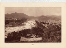 GARD, ALES, Le Gardon, Planche Densité = 200g, Format: 20 X 29 Cm, (Caubet) - Documents Historiques