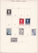 Portugal - Collection Vendue Page Par Page - Timbres Oblitérés / Neufs *(avec Charnière) -Qualité B/TB - Collections
