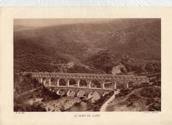 GARD, LE PONT DU GARD, Le Gardon, Planche Densité = 200g, Format: 20 X 29 Cm, (E. Michaud) - Documents Historiques