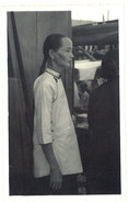 Cpa Carte-photo Cochinchine - Type De Vieille Chinoise - Viêt-Nam