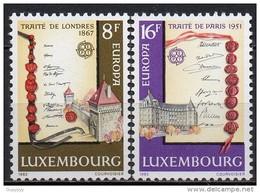 Luxembourg - 1982 - Yvert N° 1002 & 1003 **  - Europa