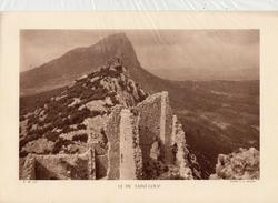 HERAULT, LE PIC ST-LOUP, Planche Densité = 200g, Format: 20 X 29 Cm, (G. L. Arlaud) - Historical Documents