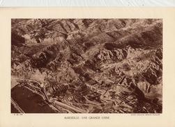 BOUCHES DU RHÔNE, MARSEILLE, UNE GRANDE USINE, Planche Densité = 200g, Format: 20 X 29 Cm, (Cie Aérienne Française) - Historical Documents
