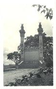 Cpa Carte-photo Cochinchine - Monument Aux Morts - Viêt-Nam
