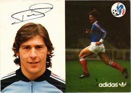 FOOTBALL - Equipe De France 1978 - RIO Patrice - - Calcio