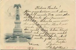 Denkmal - I. österreichisches Armee Corps Bei Chlum - Pomnik - I. Rak. Armad Sborn U. Chlumu - Sonstige